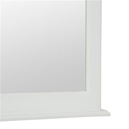 Зеркало Retro 75 белое