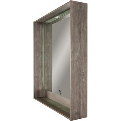 Зеркало с подсветкой Мокка 100 см цвет дуб серый