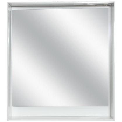 Купить Зеркало с подсветкой Мокка 60 см цвет белый глянец дешевле