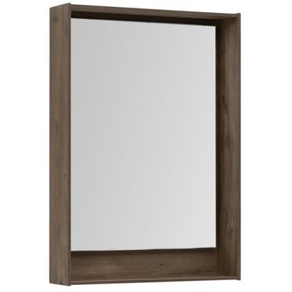Купить Зеркало с подсветкой Мокка 60 см цвет дуб дешевле