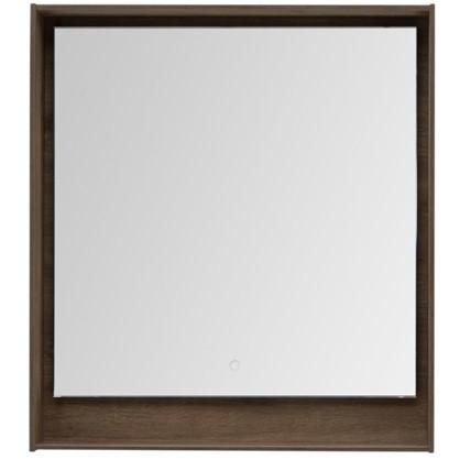 Купить Зеркало с подсветкой Мокка 80 см цвет дуб дешевле
