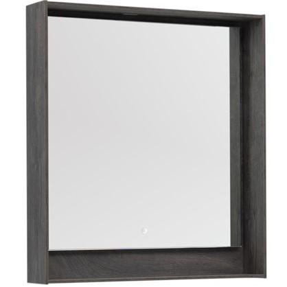 Купить Зеркало с подсветкой Мокка 80 см цвет дуб серый дешевле