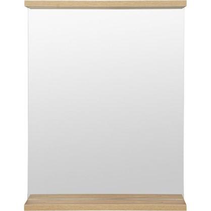 Зеркало Симпл 60 см цвет швейцарский вяз