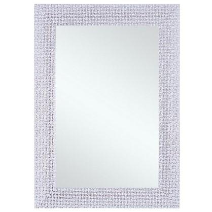 Зеркало в раме Мозаика 50х70 см цвет белый