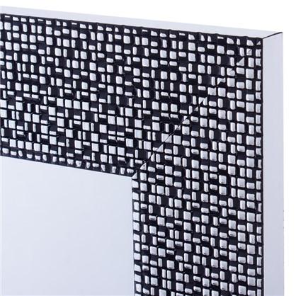 Зеркало в раме Мозаика 50х70 см цвет черный