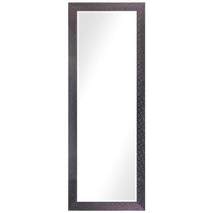 Зеркало в раме Мозаика 60х160 см цвет черный