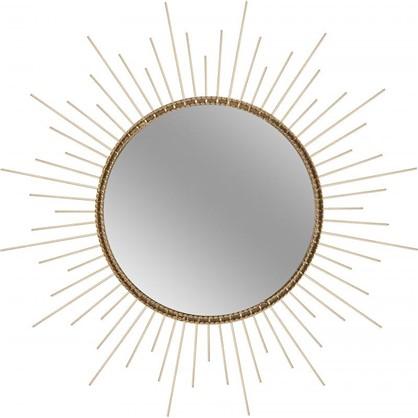 Зеркало в раме Золотые лучи 50 см