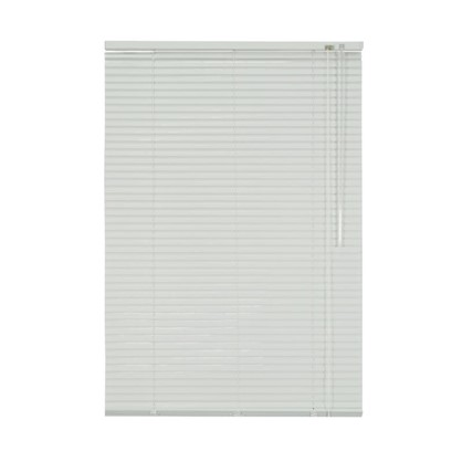 Купить Жалюзи алюминий 60х155 см цвет белый дешевле
