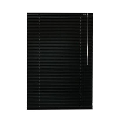 Жалюзи алюминий 60х155 см цвет черный