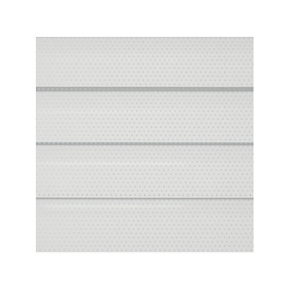 Жалюзи перфорированные алюминий 50х155 см цвет белый