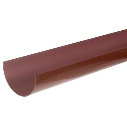 Купить Желоб водосточный 2 м 125 мм цвет красный дешевле