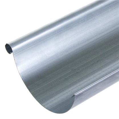Купить Желоб водосточный 2 м 125 мм оцинкованный дешевле
