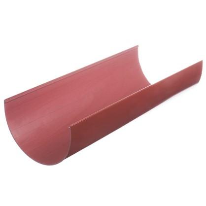 Желоб водосточный Dacha 120 мм 2 м цвет красный