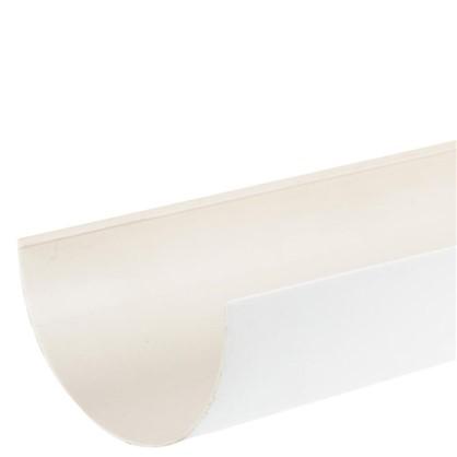Купить Желоб водосточный Dacha 120 мм 3 м цвет белый дешевле