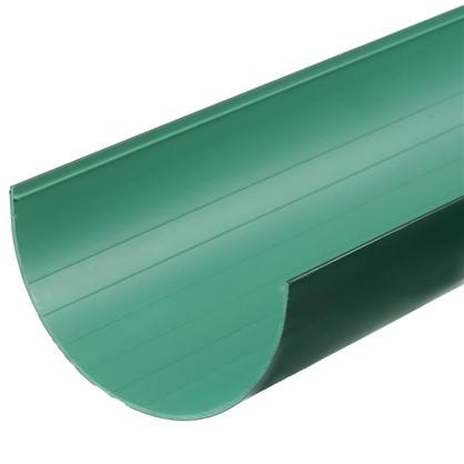 Желоб водосточный Dacha 120 мм 3 м цвет зелёный