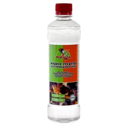 Жидкость для розжига дров и древесного угля Люкс 0.5 л без запаха