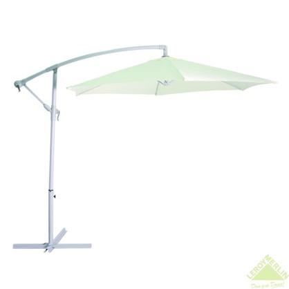 Купить Зонт дачный 2.7 м бежевый подвесной на подставке металл/полиэстер дешевле