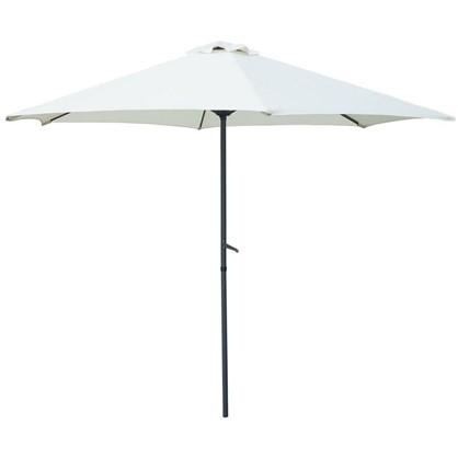 Купить Зонт дачный 2.7 м бежевый сталь дешевле