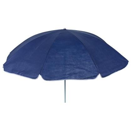 Купить Зонт пляжный 2 м синий металл/полиэстер дешевле