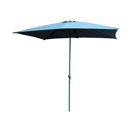 Зонт садовый на подставке цвет серый