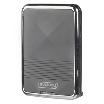 Купить Звонок беспроводной Evology QH-823A цвет черный дешевле