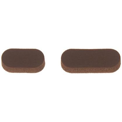 Звукопоглотитель 7x16 мм поролон цвет коричневый 10 шт.