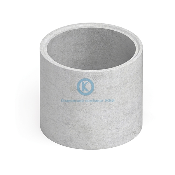 Кольцо бетонное для колодца с днищем КЦД-10-9ч