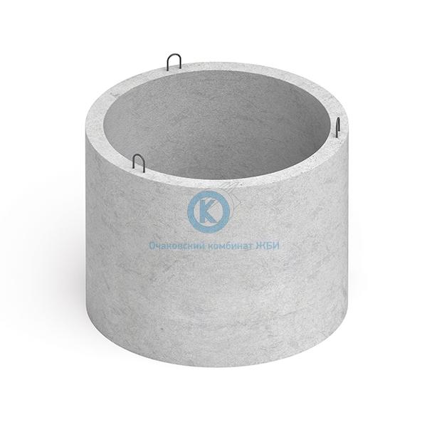 Кольцо бетонное для колодца с днищем КЦД-20-10