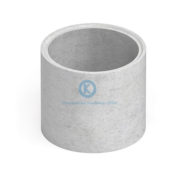 Купить Кольцо бетонное для колодца с днищем КЦД-8-10ч дешевле