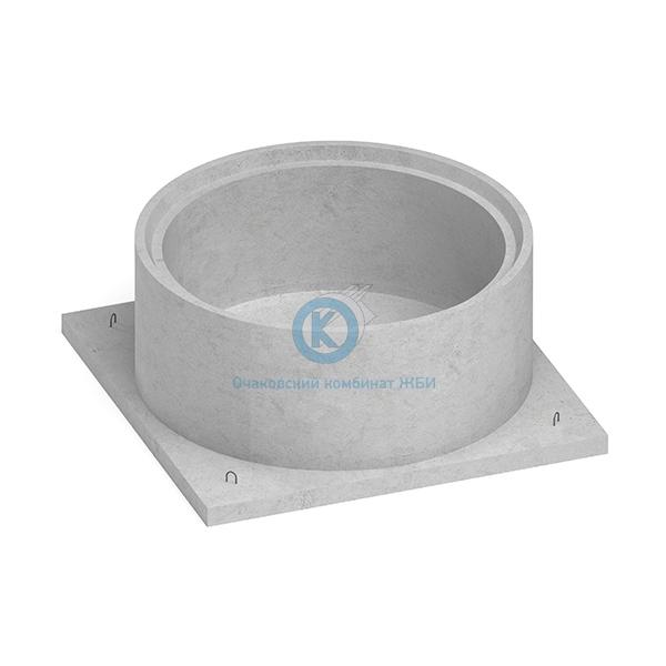 Купить Кольцо бетонное для колодца с квадратным основанием КЦД-20-10ч дешевле