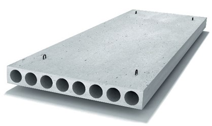 Плиты перекрытий многопустотные П 63-15-12,5 АтV-1
