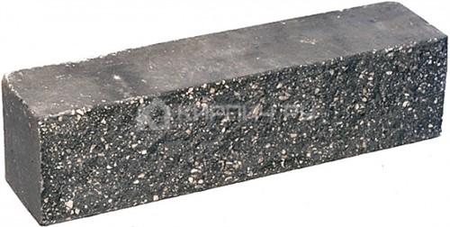 Купить Кирпич гиперпрессованный брусок М-250 черный рустированный ложок дешевле