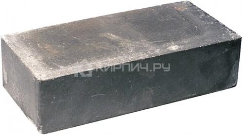 Кирпич гиперпрессованный одинарный М-250 черный гладкий