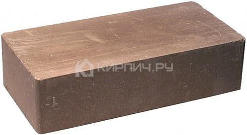Кирпич гиперпрессованный одинарный М-250 коричневый гладкий
