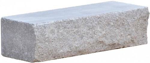 Кирпич одинарный М-250 серый рустированный ложок