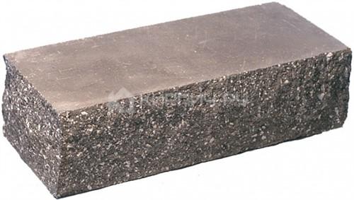 Кирпич одинарный М-250 шоколад рустированный угол