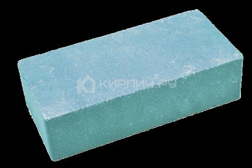 Кирпич одинарный М-250 синий гладкий