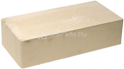 Кирпич гиперпрессованный одинарный М-250 слоновая кость гладкий