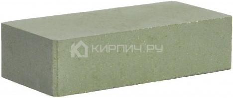 Кирпич одинарный М-250 зеленый гладкий