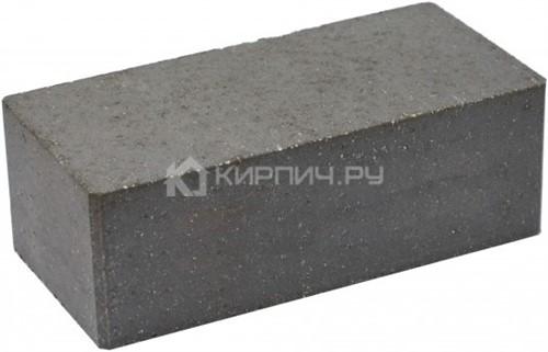 Кирпич гиперпрессованный полуторный М-250 черный гладкий