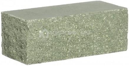 Кирпич полуторный М-250 зеленый рустированный угол