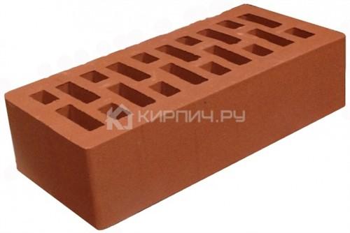 Кирпич одинарный Бордовый камень гладкий М-300
