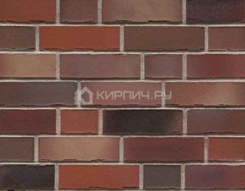 Кирпич клинкерный Feldhaus Klinker Bacco ardor matiz K991NF ручная формовка 240х115х71