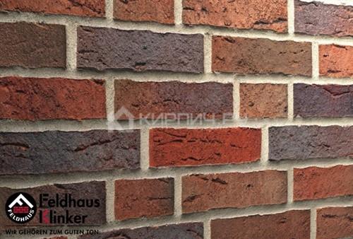 Кирпич клинкерный Feldhaus Klinker Sintra lava maris K661NF ручная формовка 240х115х71