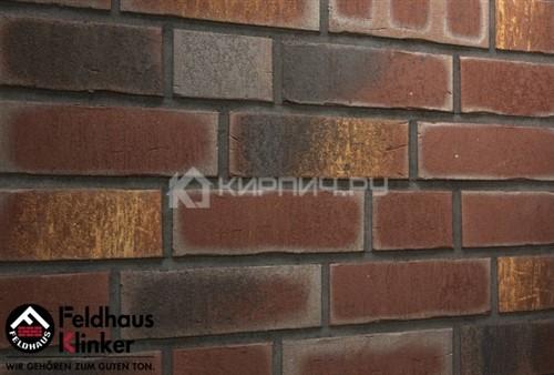 Кирпич клинкерный Feldhaus Klinker Vascu cerasi legoro K769NF рельефный 240х115х71