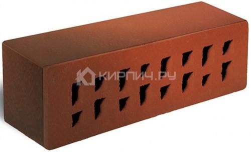 Кирпич 250х85х65 Красный флэшинг Ноттингем гладкий М-300