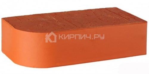 Кирпич 250х120х65 LODE Janka F15 радиус R-60 полнотелый гладкий М-500
