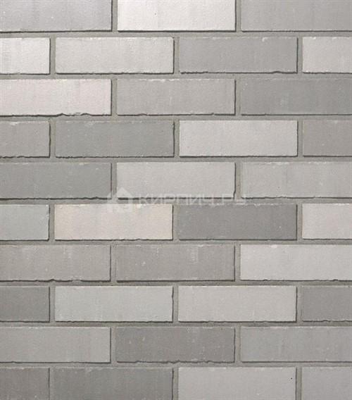 Кирпич для фасада Roben Faro grau-bunt NF гладкий 240х115х71