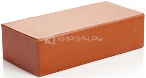 Кирпич клинкерный одинарный красный полнотелый гладкий 250х120х65 М-300