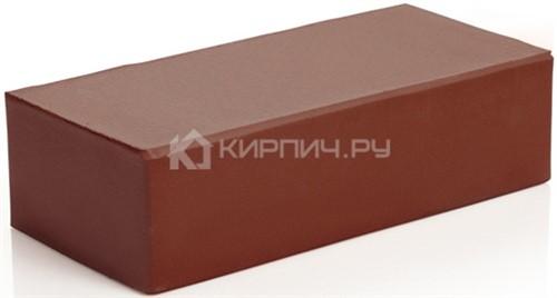 Кирпич М-300 одинарный шоколад полнотелый гладкий 250х120х65